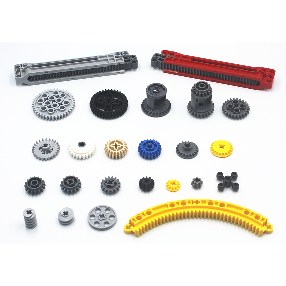 Building Blocks Bulk MOC Technic Parts Technic Gear Bricks Compatible With Lego For Kids Boys Toy