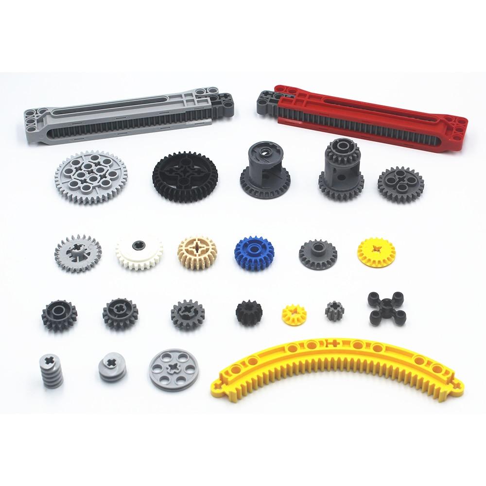 Building Blocks Bulk MOC Technic Parts Technic Gear Bricks Compatible With Lego For Kids Boys Toy