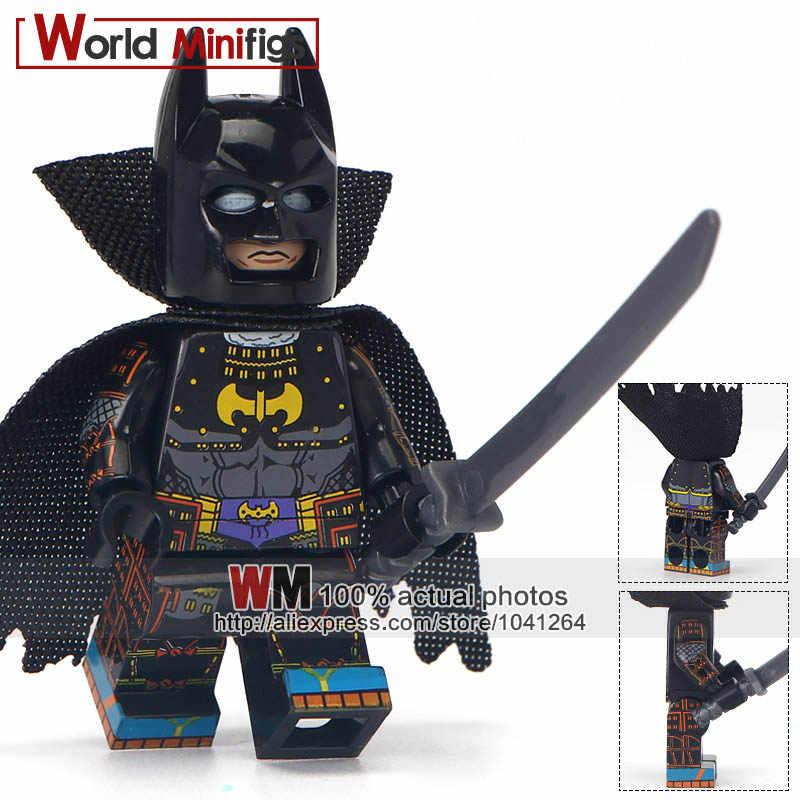 Đĩa đơn Bán Mạc Phủ Samurai Batman Wonder Người Phụ Nữ DC Siêu Anh Hùng Y Tá Phù Hợp Với Joker Giáo Dục Khối Xây Dựng Bộ Sưu Tập Đồ Chơi Trẻ Em