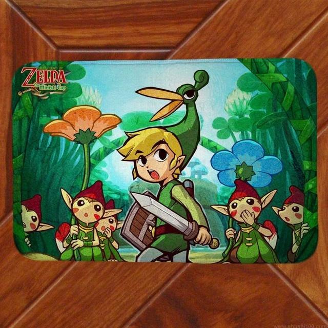 La Legende De Zelda Tapis De Sol Tapis Decor Chambre Paillasson