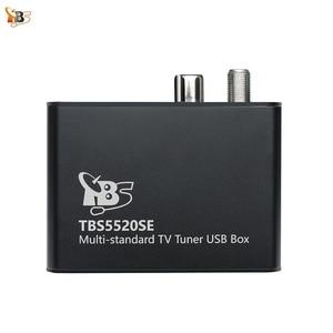 Image 1 - Sintonizador de TV Universal TBS5520SE, multiestándar, USB, para ver y grabar DVB S2X/S2/S/T2/T/C2/C/ISDB T FTA TV en PC
