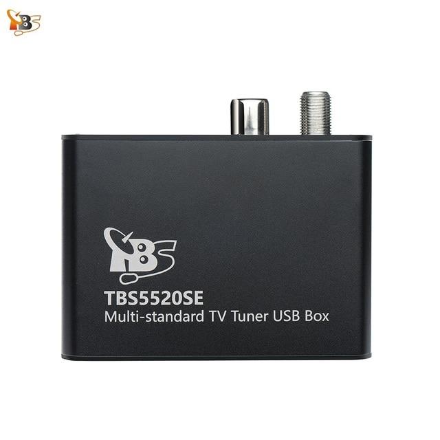 Sintonizador de TV Universal TBS5520SE, multiestándar, USB, para ver y grabar DVB S2X/S2/S/T2/T/C2/C/ISDB T FTA TV en PC
