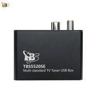 TBS5520SE Multi standard Universal TV Tuner USB Box for Watching and Recording DVB S2X/S2/S/T2/T/C2/C/ISDB T FTA TV on PC