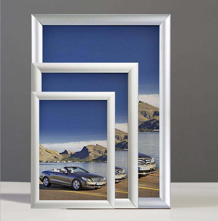 Aluminio Snap Frames A0 A1 A2 A3 A4 marcos del cartel tamaño en de ...