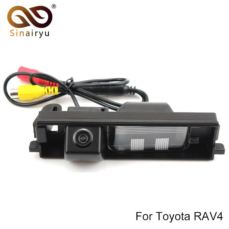 Sinairyu Auto Car CCD Rear View Reverse Backup font b Camera b font for TOYOTA RAV4