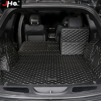 цена на JHO Car Trunk Mats For 2011-2019 Jeep Grand Cherokee 2018 2017 2016 2015 2014 2013 2012 Cargo Liners Protector Accessories