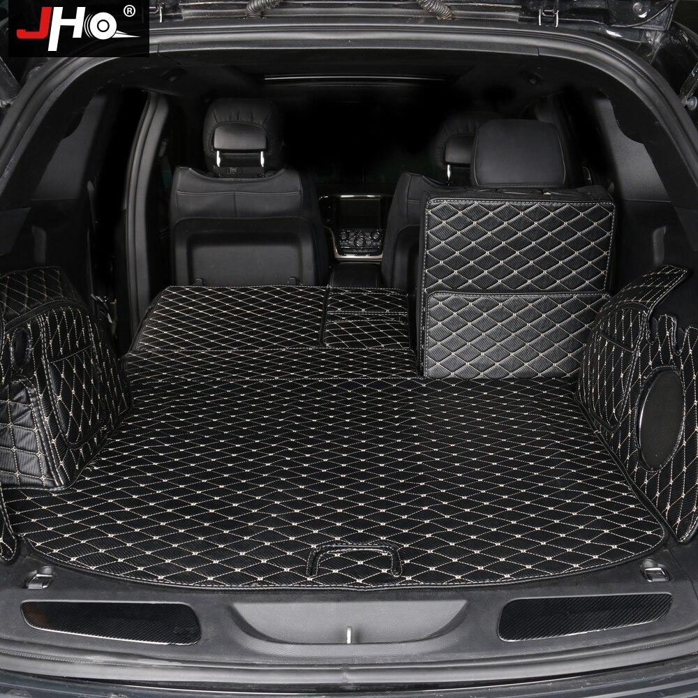 Tapis de coffre de voiture JHO pour Jeep Grand Cherokee 2011 2019 2018 2017 2016 2015 2014 2013 2012