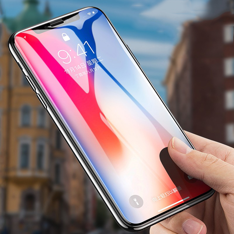 9H tempered glass For iphone X 8 8plus XR XSmax 6 6s plus 7plus screen protector For iphone 7 8 X 6 XS MAX plus protective Glass in Phone Screen Protectors from Cellphones Telecommunications