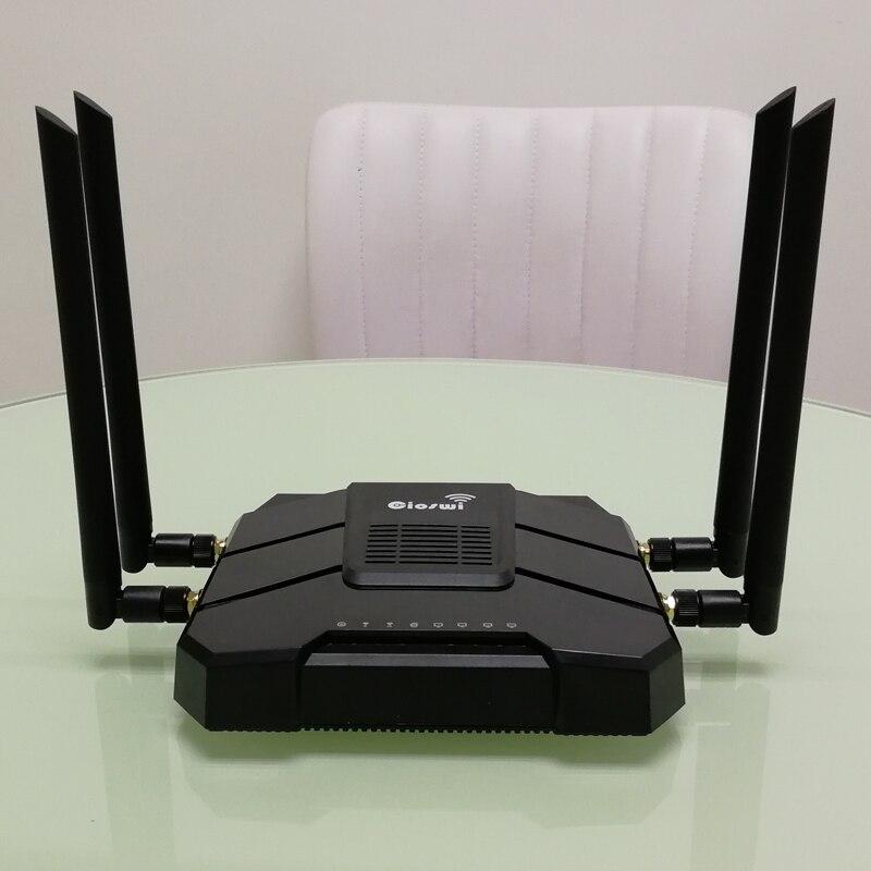 Image 5 - Гигабитный wifi маршрутизатор с ОС OpenWRT с слотом для sim карты 1200 Мбит/с 2,4 г/5 ГГц 512 Мб двухдиапазонный 4G LTE 3g модем маршрутизатор беспроводной ретранслятор-in Беспроводные маршрутизаторы from Компьютер и офис