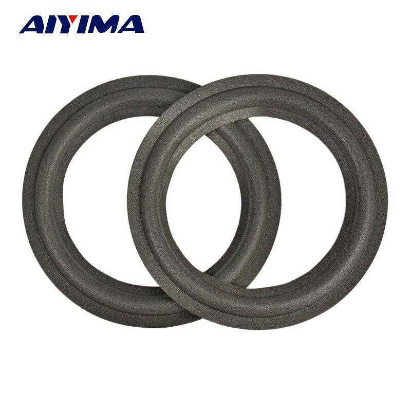 Aiyima 2шт 5-дюймовий акустична піна сторона бас гучномовець ремонтується частина Складіть ободок кола