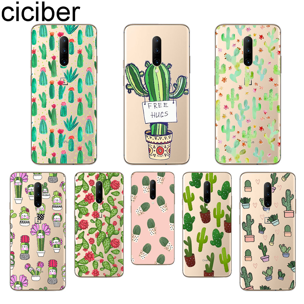 ciciber Plant Cactus Phone Case For font b Oneplus b font font b 7 b font
