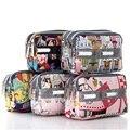 Lesport Flower Zipper Bag Multi-function Women Mini Handbag Wrist Length Bag Ladies Printing Day Clutches Sac Phone Bags NB72-54