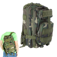 30L Outdoor Sport Military Tactical Backpack Rucksacks Camping Hiking Trekking Bag Jungle camouflage