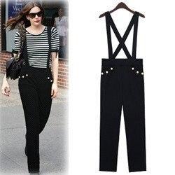 2011 New European Style Pants,Ladies Bib trousers,Fashion women ...