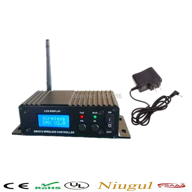 LCD wireless DMX512 Receiver&Transmitter/XLR wireless DMX512 Receiver&Transmitter/wireless dmx 512 controller LED stage lights