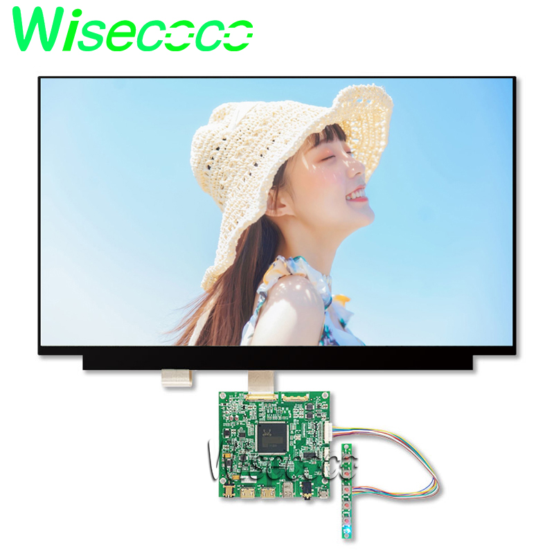 15.6 Inch 4k Lcd Laptop Screen 3840*2160 Uhd Ips Display 2hdmi Dp Control Board For Raspberry Pi 3 Diy Project
