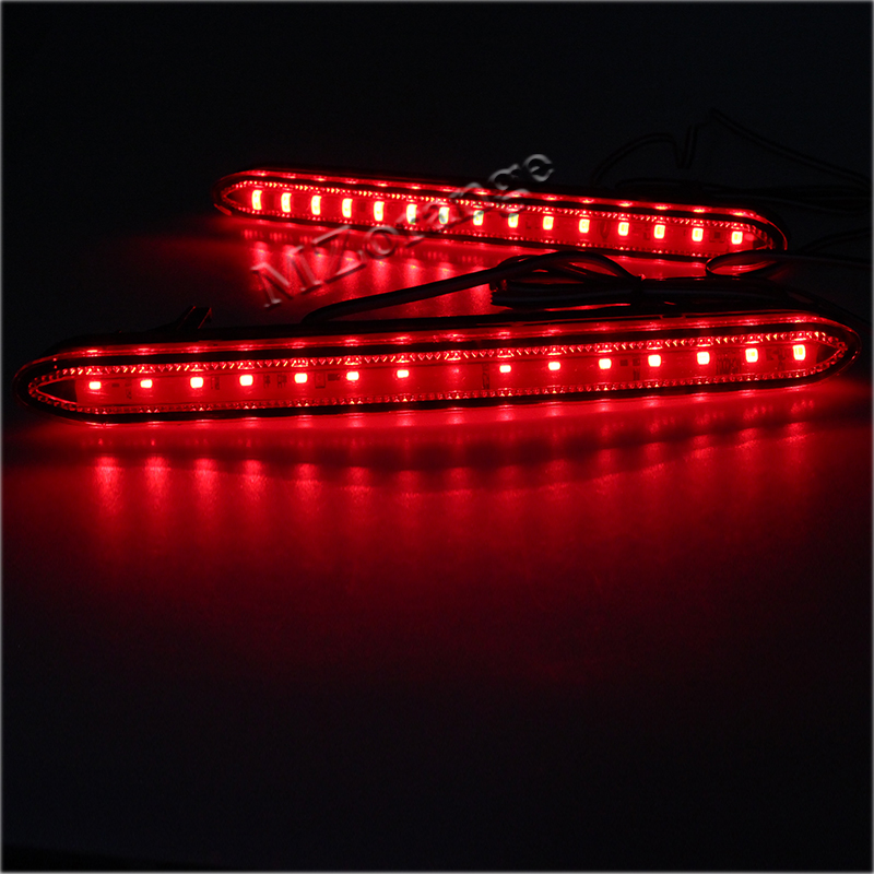 High Quality For Honda Odyssey 2007 Car Reflector LED Back Tail Rear Bumper Light Brake Lamp Fog Light in Car Light Assembly from Automobiles Motorcycles