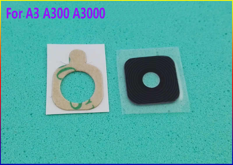 2pcs/lot HAOYUAN.P.W new Original housing Rear Back Camera Glass Lens For Samsung Galaxy A3 A300 A3000 ( Not fit for A310 )