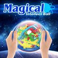 1 Шт. 3D Лабиринт Волшебный Интеллект Мяч Дети Удивительный Баланс Логика Способность Игрушки Обучения Образовательные IQ Тренер Игра Для Детей