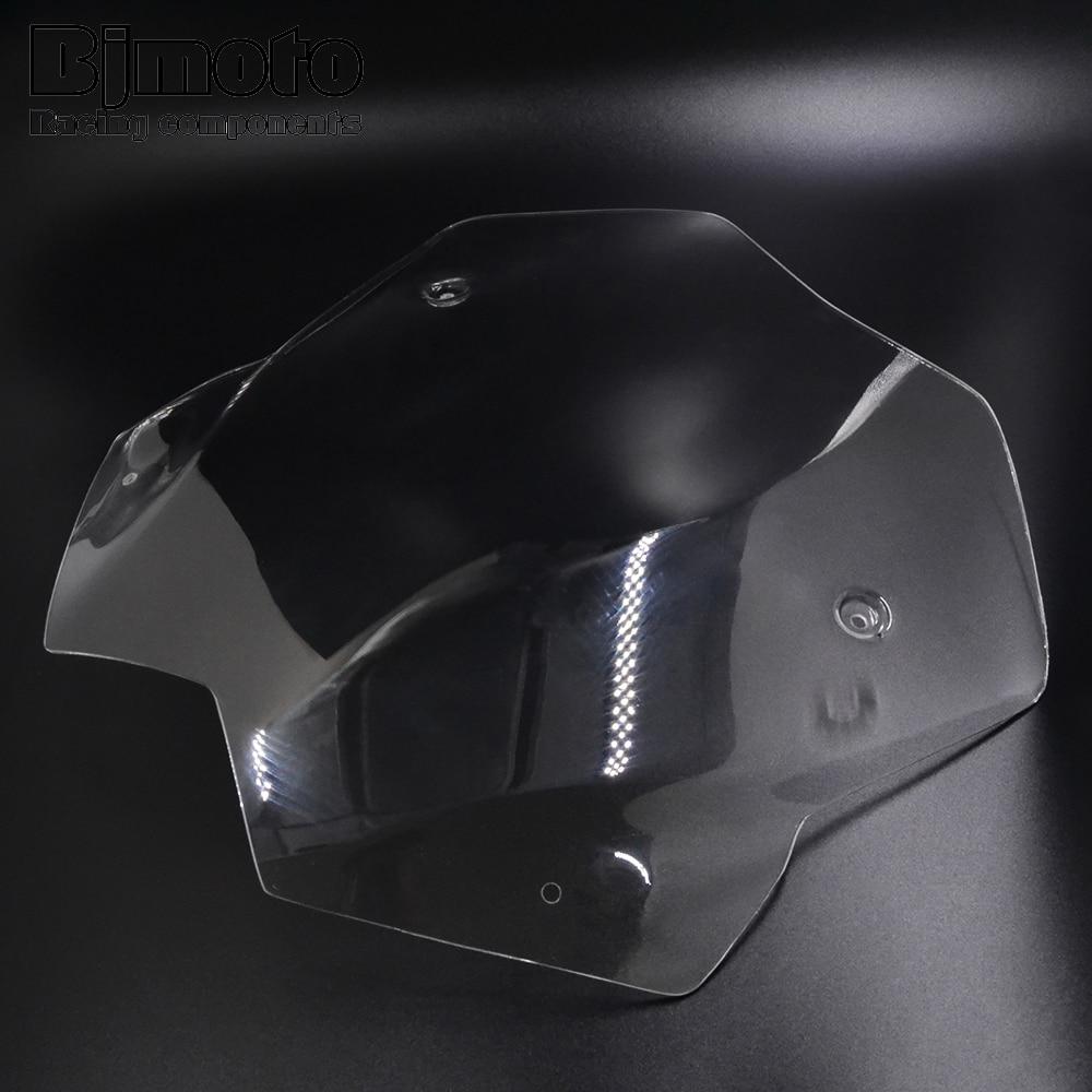 цена на Bjmoto motorcycle TMAX 530 Short Windscreen Windshield Screen Protector For Yamaha Tmax 530 T-MAX530 2012 2013 2014 2015 2016