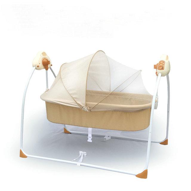 1bac247b139b Electric Cradle Bed Baby Rocking Bed Newborn Sleeping Intelligent ...