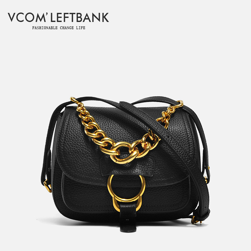 Women Brand Genuine Leather Shoulder Bag Satchel Handbag Fashion Messenger Bag Famous Designer Clutch Shoulder Bag Vcom'Leftbank hot sale european and american fashion men genuine leather famous kpaullon brand shoulder handbag designer mens messenger bag