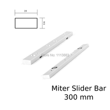 12inch 300mm Aluminium Alloy Miter Bar Miter Slider Table Saw Miter Gauge Rod цены