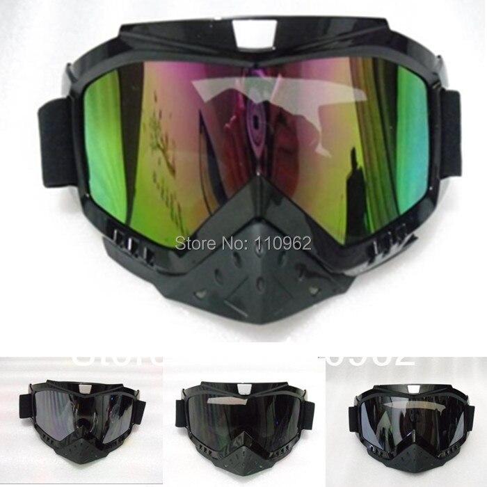 2016 Nouvelle Arrivée moto casque lunettes KTM RENARD Professionnel motocross lunettes moto lunettes motocros casque dans Casques de Automobiles et Motos