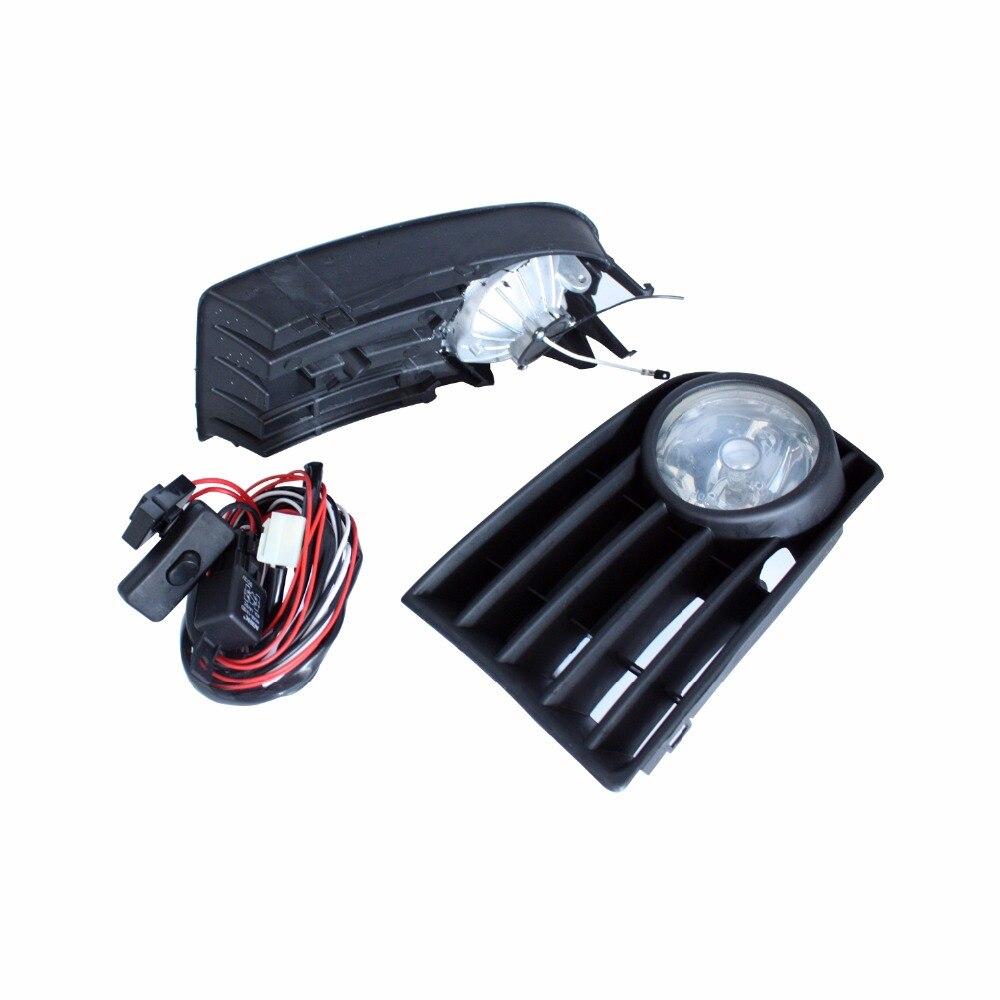 12V Car DRL Lamp Front Bumper Grilles Halogen Fog Light For Volkswagen VW Golf 5 MK5 Rabbit 2006 2009 Car Styling