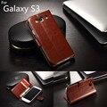 Для fundas Samsung s3 карты держатель, чехол для samsung galaxy S3 i9300 кожаный телефон случае ультра тонкий кошелек флип крышка