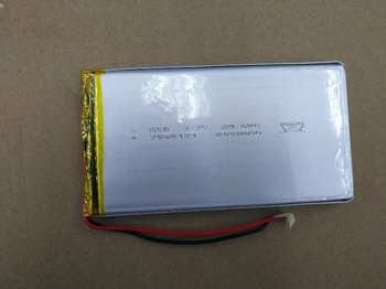 Packet 3.7V polymer lithium battery 7565121
