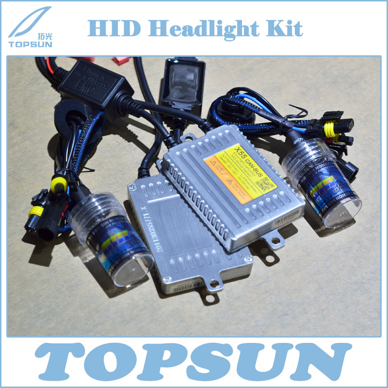 Car Light Kit X55 Quick Rev & CAN-BUS 12V 55W HID Slim ballast, Bulb H1 H3 H7 H8 H9 H10 H11 9005 9006 880 881 4300K 6000K 8000K 1 pair 12v 55w car xenon hid bulbs h1 h3 h7 h8 h9 h11 9005 hb3 9006 hb4 880 881