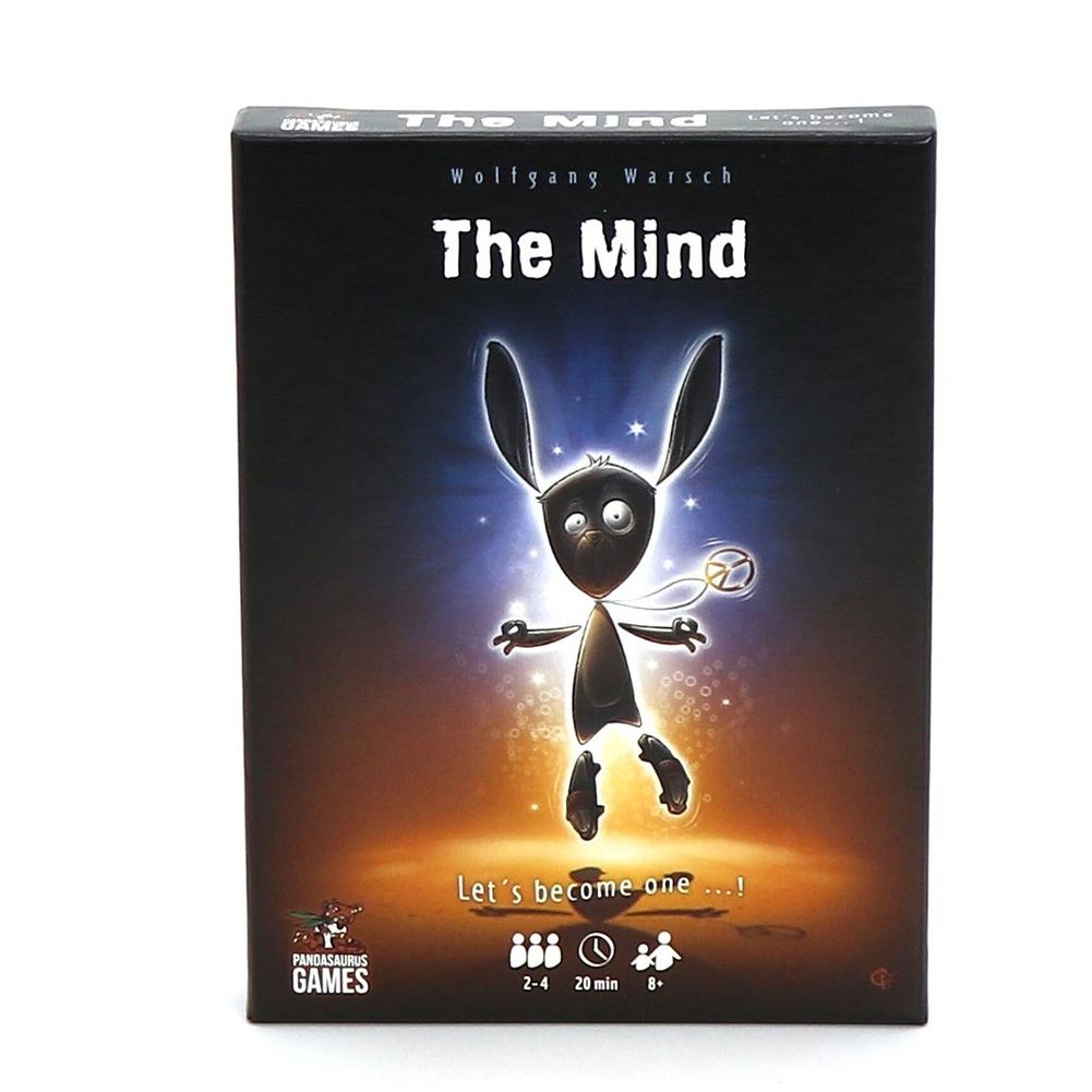 The Mind Card Game Puzzle Card Game Card Party Game Board Games Card Team Experience Interactive Toys For Children Adult(China)
