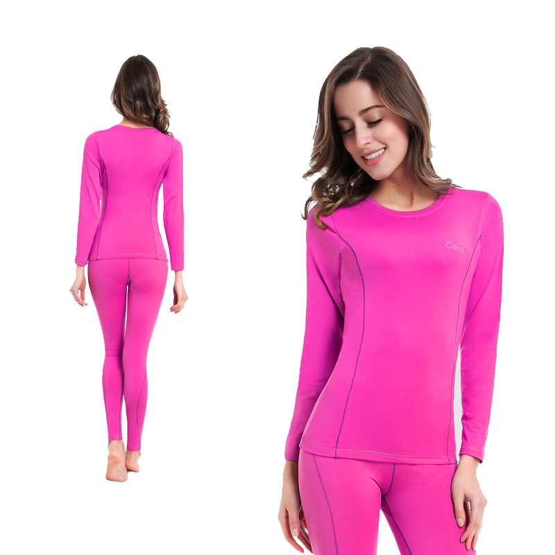 Winter Ski Jacket And Pants Thermal Skiing Underwear Women Quick Dry Long Johns For Ski/Riding/Climbing/Cycling