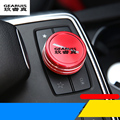 Car styling New arrival multimedia knob decoration sticker Cover Paste For Mercedes Benz A/B CLA/GLA/GLK/GLE/ML/GL Interior