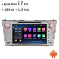 Android 8 Pollice Car Dash GPS 3G WIFI Quad Core 32 GB DVR OBD Bluetooth Touch Screen Capo Unità Stereo per Toyota Camry Aurion 07