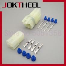 1-50 sets Sumitomo HM 090 male female 4 pin way Oxygen Sensor plug connector for Changan Suzuki 6187-4441 6180-4181