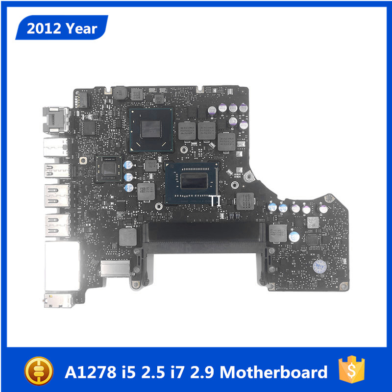 Sale Tested Motherboard for Macbook Pro 13 Laptop A1278 Logic Board i5 2 5GHZ i7 2