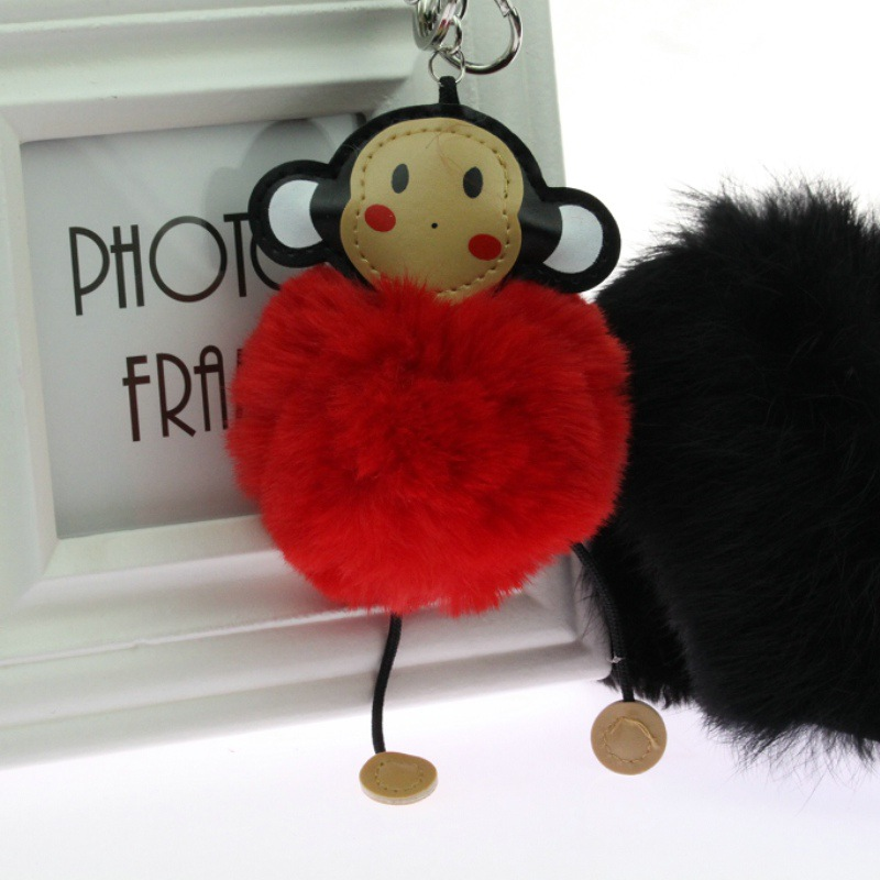 Clever monkey lovely key Mobile phone chain 4