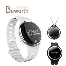 E07 Смарт Браслет IP67 водонепроницаемые часы Bluetooth фитнес-трекер спортивный SmartBand Браслет Синхронизации для Android IOS Телефон