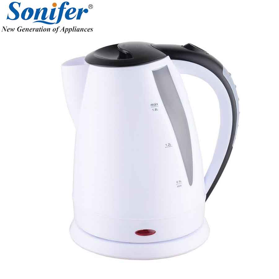 1500W Original 1.8L Large Capacity Colorful Kettle Household water boiler Quick Heating Electric Boiling Pot Sonifer 1 7l original colorful electric kettle glass 2200w household quick heating electric boiling pot sonifer