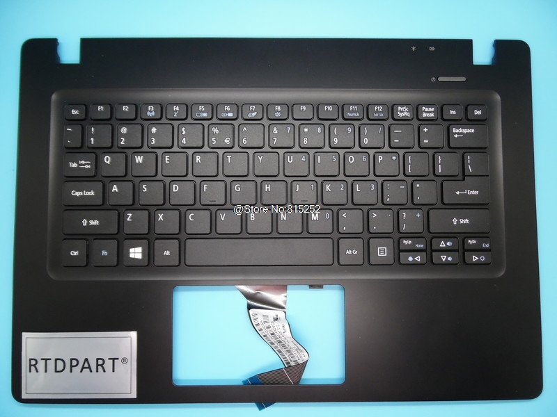 Laptop PalmRest&Keyboard For ACER For Aspire V3-371 V3-331 V3-371G Without Touchpad JTE46002B09000 V13933 NK.I1117.04 White spanish latin laptop keyboard for sony vaio svp1321ecxb svp1321ggxbi svp1321hgxbi svp1321zrzbi sp la palmrest backlit touchpad