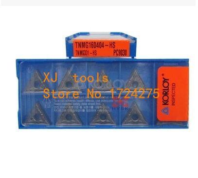 Free Shipping 10pcs TNMG160404 HS PC9030 Turning Inserts for Lathe Holder WTJNR MTJNR MTENN MTQNR for