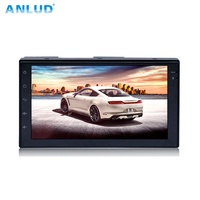 ANLUD 7inch HD Car GPS Player Navigation FM Bluetooth AVIN Map Free Upgrade Navitel Europe Sat nav Truck Navigators Automobile