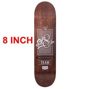 Image 3 - SK8ER Canadese Maple Skateboard Decks 8 pollici di Qualità 8 Strati di Acero Canadese Skate Deck con 1 pc gtiptape