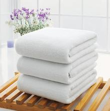 Wholesale 3 pc/lot Pure cotton hotel special white bath towel swimming pool sports event beauty body