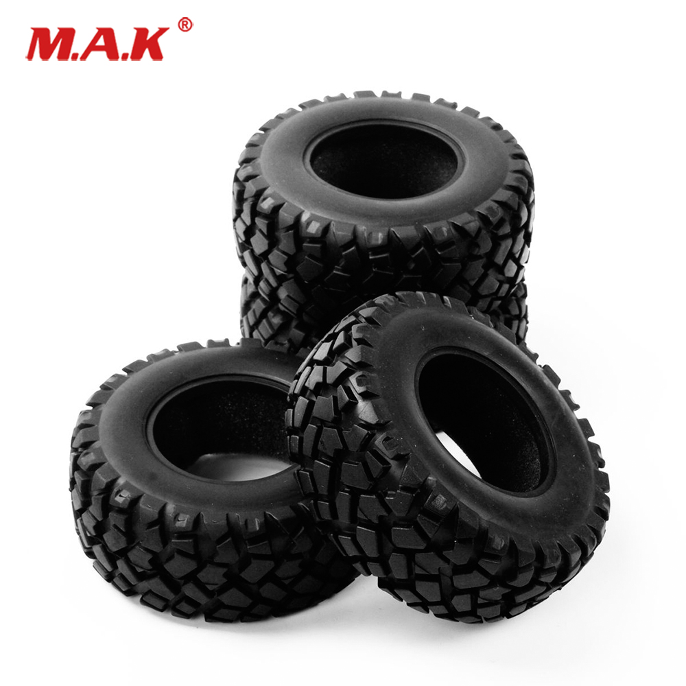 4Pcs/Set 17mm Hex Rubber 1:10 Short Course Truck Tyre Tires PP0339 Tire Fit 1:10 RC HSP HPI Racing Car Accessory