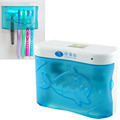 Home Health Dental Care UV Family Toothbrush Sterilizer Sanitizer Cleaner Storage Case Holder EU Plug