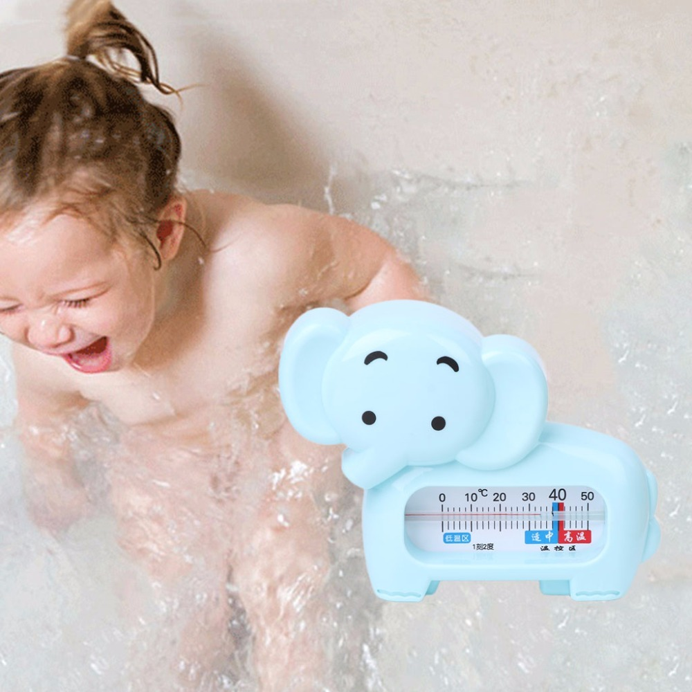 Water Room Thermometer Baby Bathing Elephant Shape Temperature Infant Kid Shower