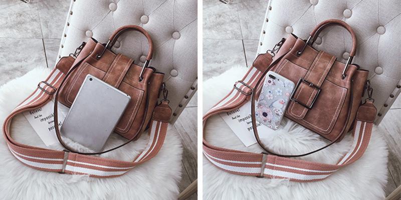 New European and American style vintage PU women handbag shoulder bag messenger bag 78
